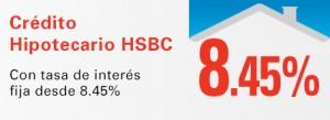 credito hipotecario hsbc tasa 8.45