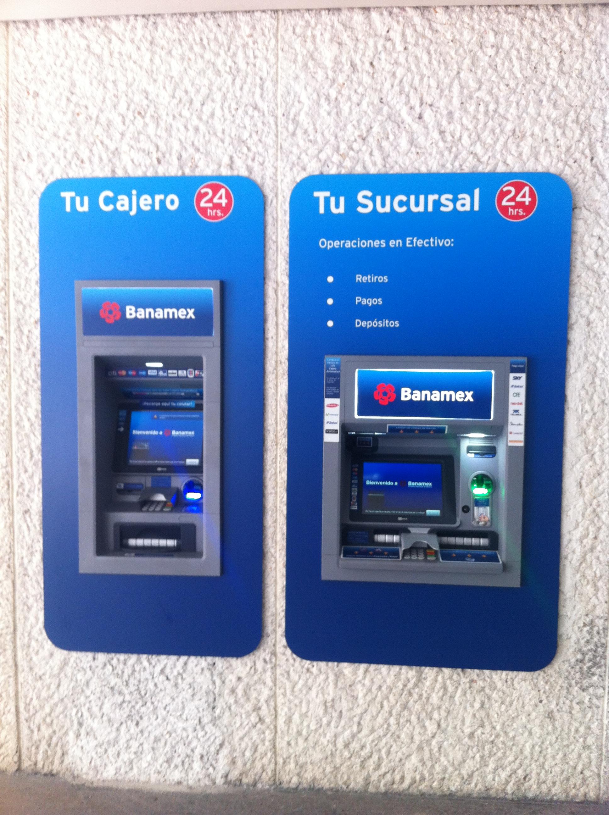 Gana 1 000 con cajeros autom ticos banamex blog de for Los cajeros automaticos
